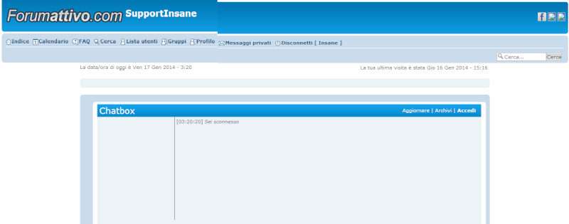 Come creare una condivisione sia nell' home page che nei vari topic? Immagi15