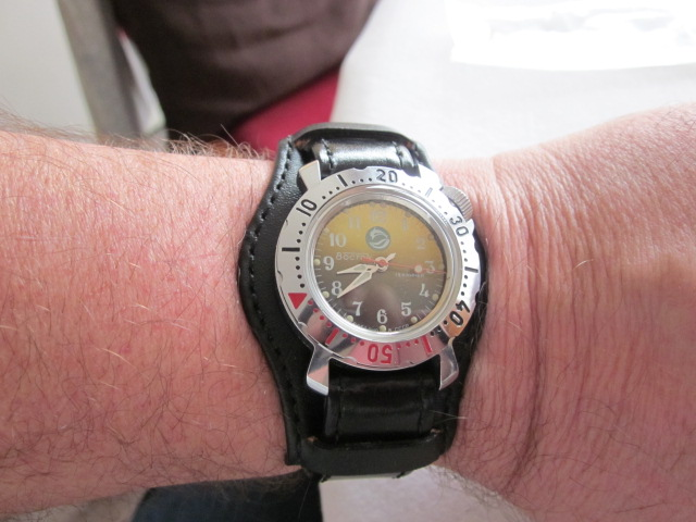 Vostok cadet sur bracelet bund. 00111