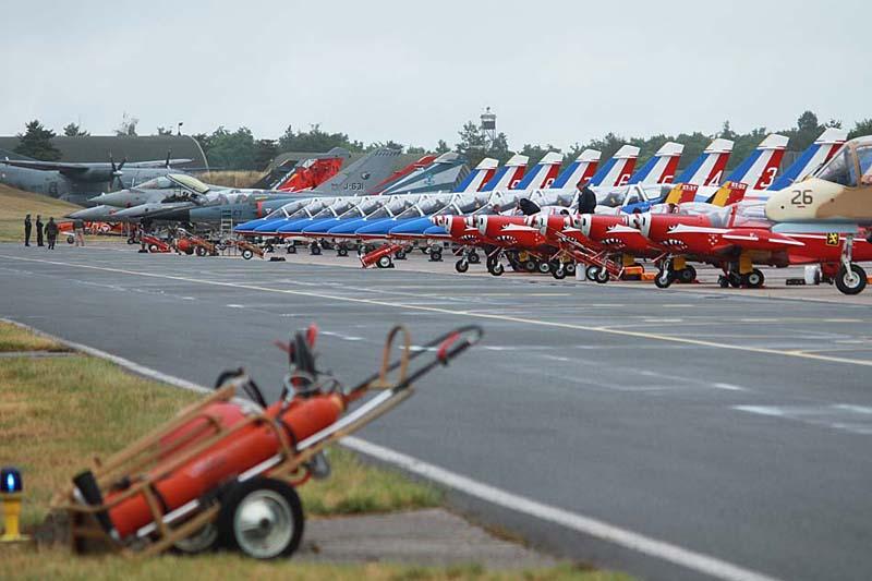 Défilé aérien : inauguration nouvel OTAN Patrou10