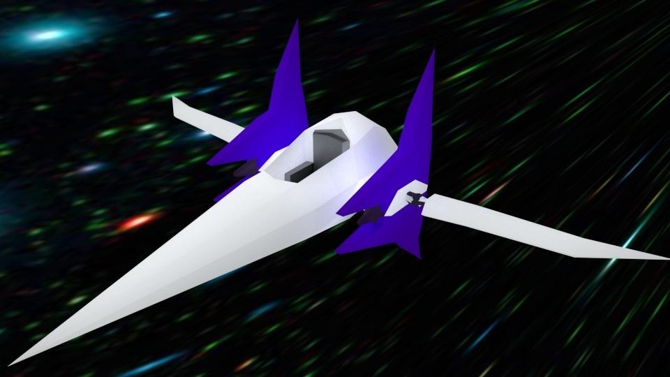 5h0ck's 3D Render's Arwing13