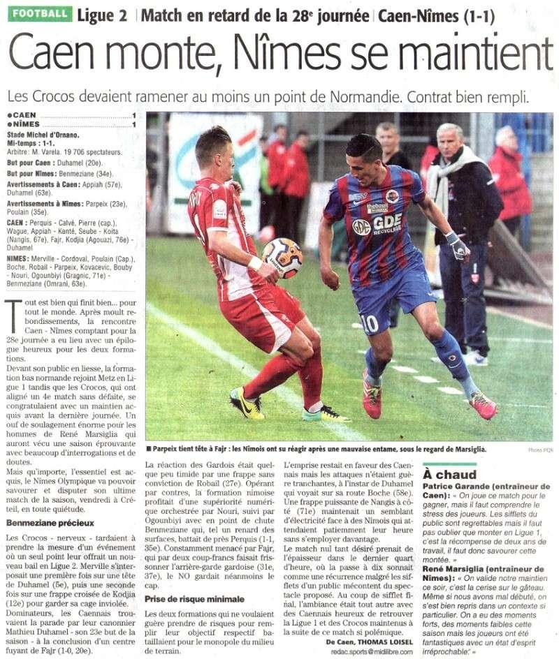[28e journée de L2] SM Caen 1-1 Nîmes Olympique - Page 19 Img23610