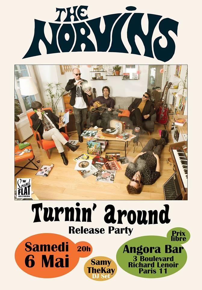 The Norvins - Release Party @ Angora Bar - Paris 11 17798810