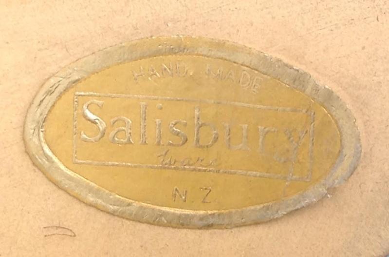Five 04s handpainted Salisburyware PHOTOS ADDED -410