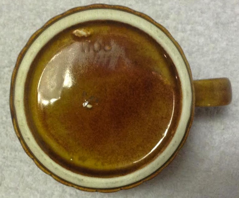 four digit castware mug 1108 1108b10