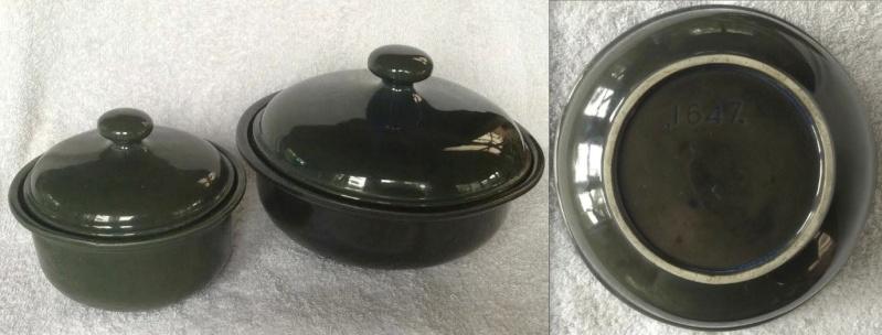 .1647. casserole in Aquamarine or Lucow 1647c10