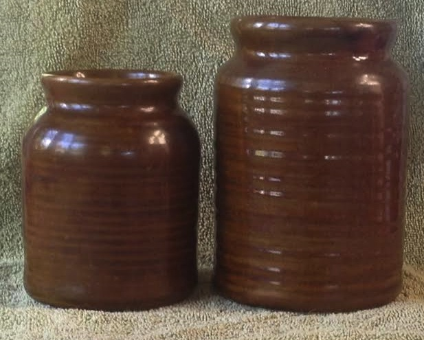2 canisters, maker unknown: Orzel (or Royal Oak)? 2x11