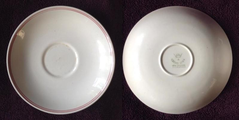 3635 vitrified Carlton Cup and matched saucer 3635sa11