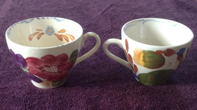 Earlier shape 781 (tulip cup) and 805 781s10