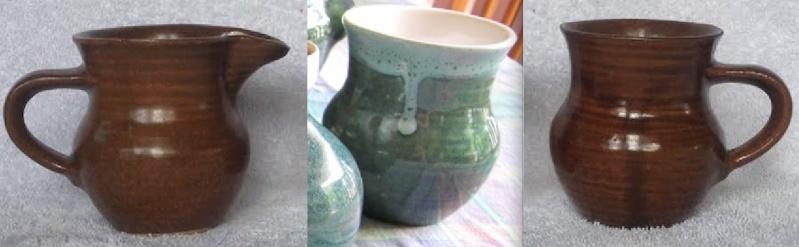 More brown Orzel: mug and jug Aha10