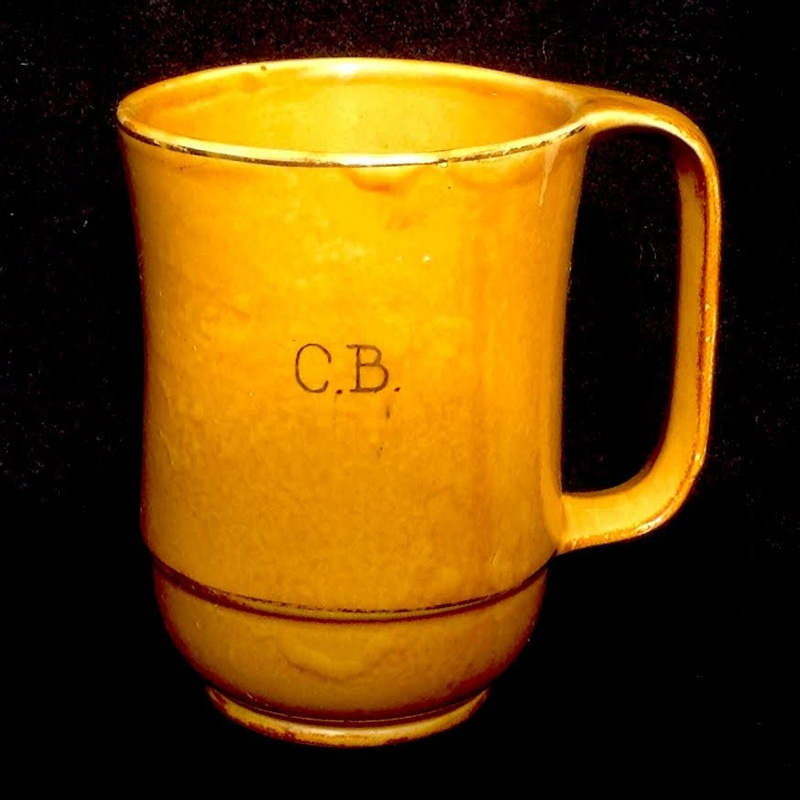 Crown Lynn (Ambrico) honey glaze mug ca1948 Ambric14