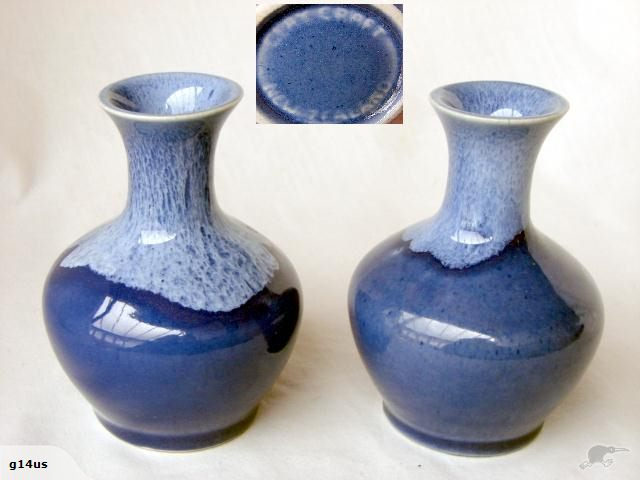 a selection of Clay Craft glazes Blueon10