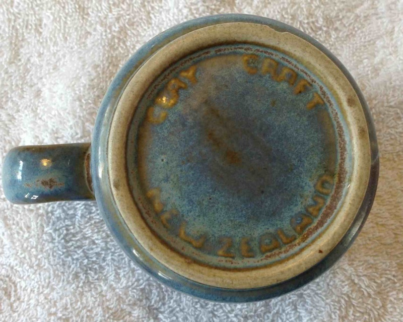 Cups - stamped Made In New Zealand - These must be Clay Craft Ccmugb10