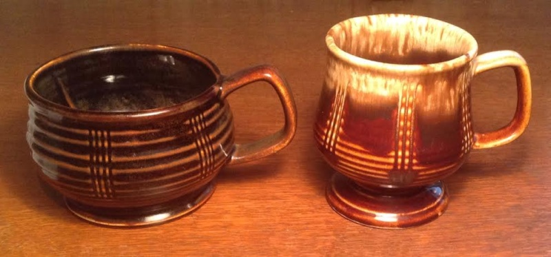 This has to be a four digit shape !!!  And it is a 1192 and a 1176 Fork Scraped Goblet Mug  Cupgob10