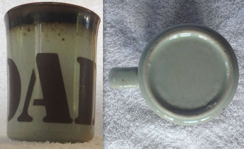 Cups - stamped Made In New Zealand - These must be Clay Craft Dadcom10