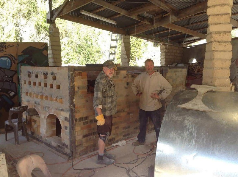 A new wood kiln for the Quarry Kiln110