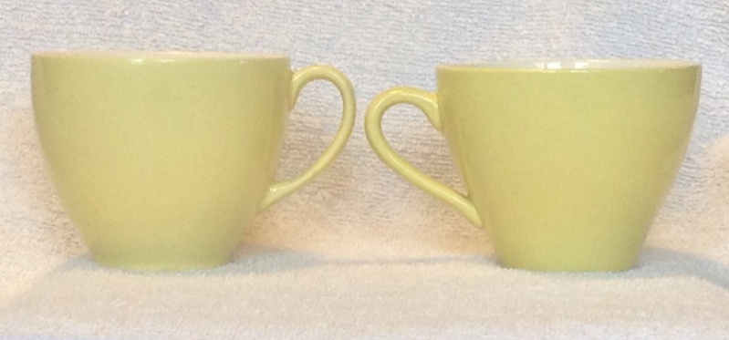 Yellow Colour Glaze Tulip and a similar shape Left10