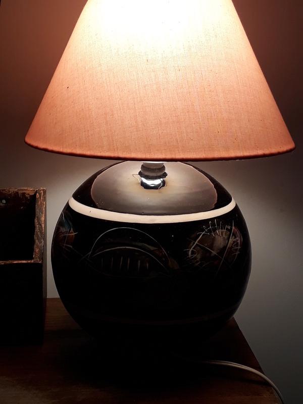 Stage Artware Paua Lamp Makut210