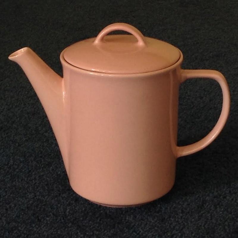 Pink sugar basin and coffee pot Modello Venice  Modell10