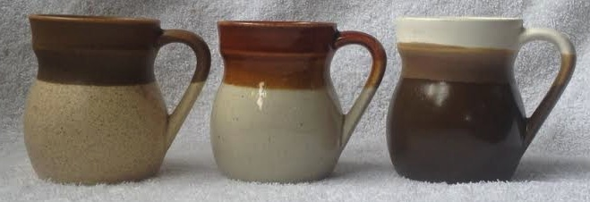 a totally random mug (or five): Parker Pottery! Morera10