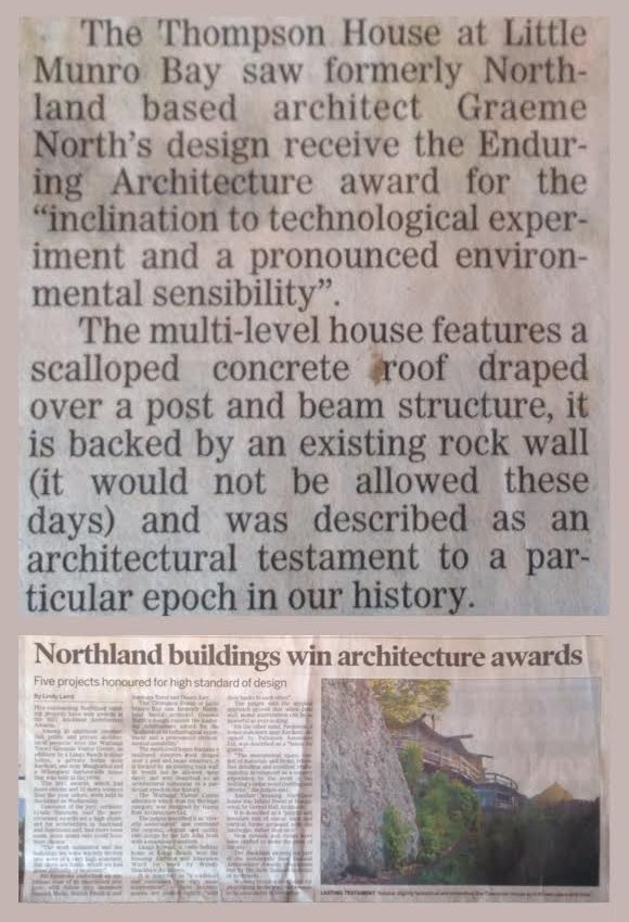 Article about Yvonne Rust's house building North110