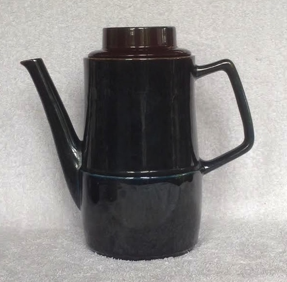Orzel Coffee Pot for the gallery + milk and sugar Or3b10