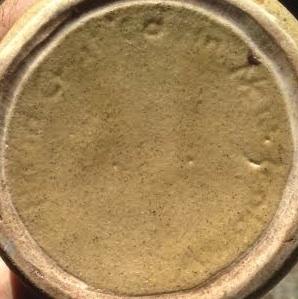 Adelaar/Orzel corked storage jar (new base mark) Orzelc11