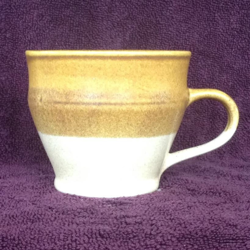 TWO handpotted Parker Pottery mugs Parker13