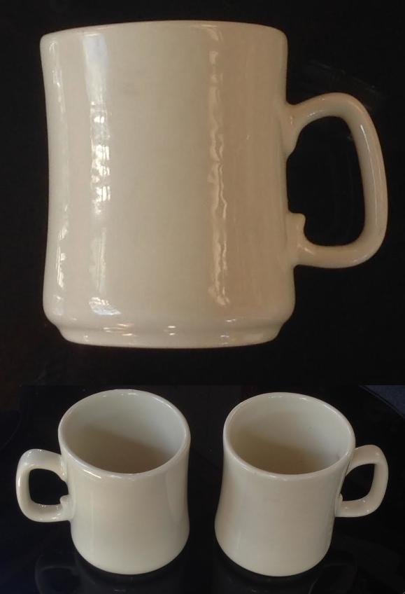 VERY PLAIN waisted mugs 1279 Plain12