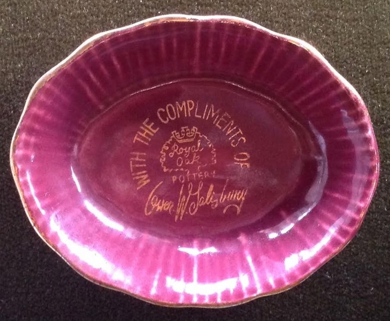 Crown Lynn for Owen Salisbury Ro12