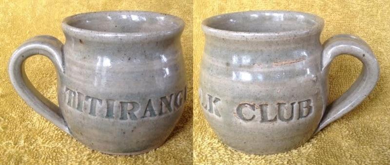 Titirangi Folk Club mug Tfc10