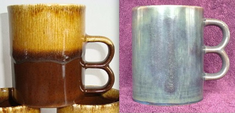 Double Handle Mugs - Basalt and Lucow from CL and a likely Teal Untitl15