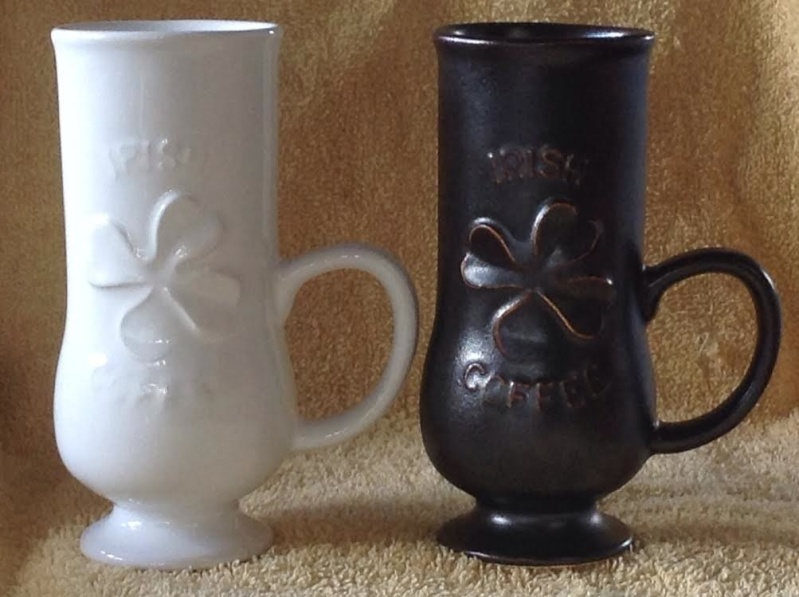 1299 Shamrock Emblem Irish Coffee Mug White_11