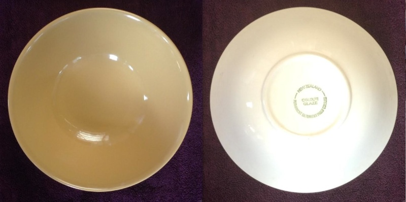 tableware dates needed (some photos but boring!) Yellow10