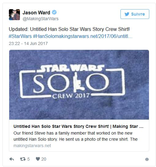 Solo - Les NEWS - Star Wars Han Solo A Star Wars Story - Page 4 Han10