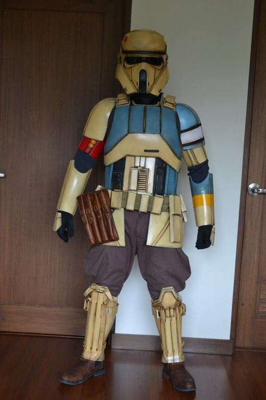 creation d'armure  Shore troopers par un fan  Nnnn10
