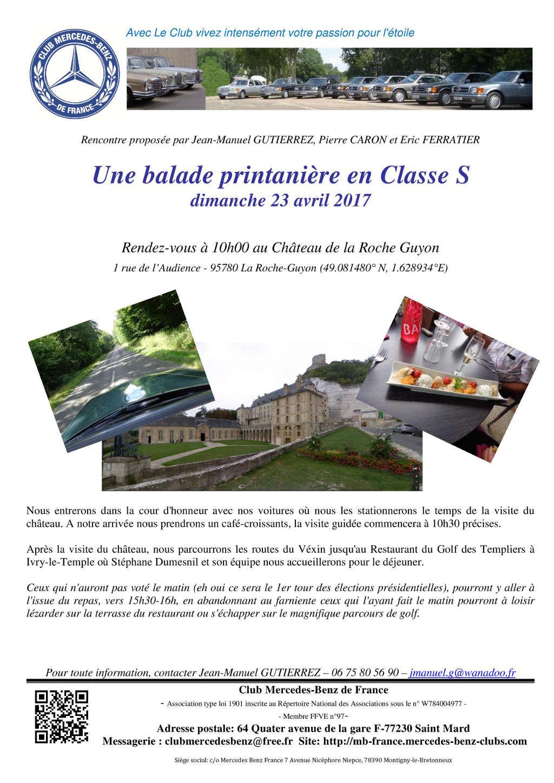 Dimanche 23 avril 2017 : Balade printanière en classe S 2017_012