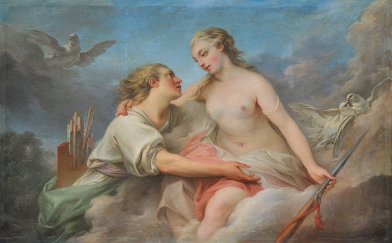 Adonis, heros antique à Versailles Clymen10