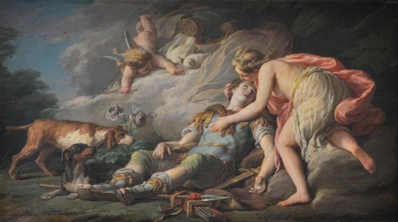 Adonis, heros antique à Versailles Nicola10