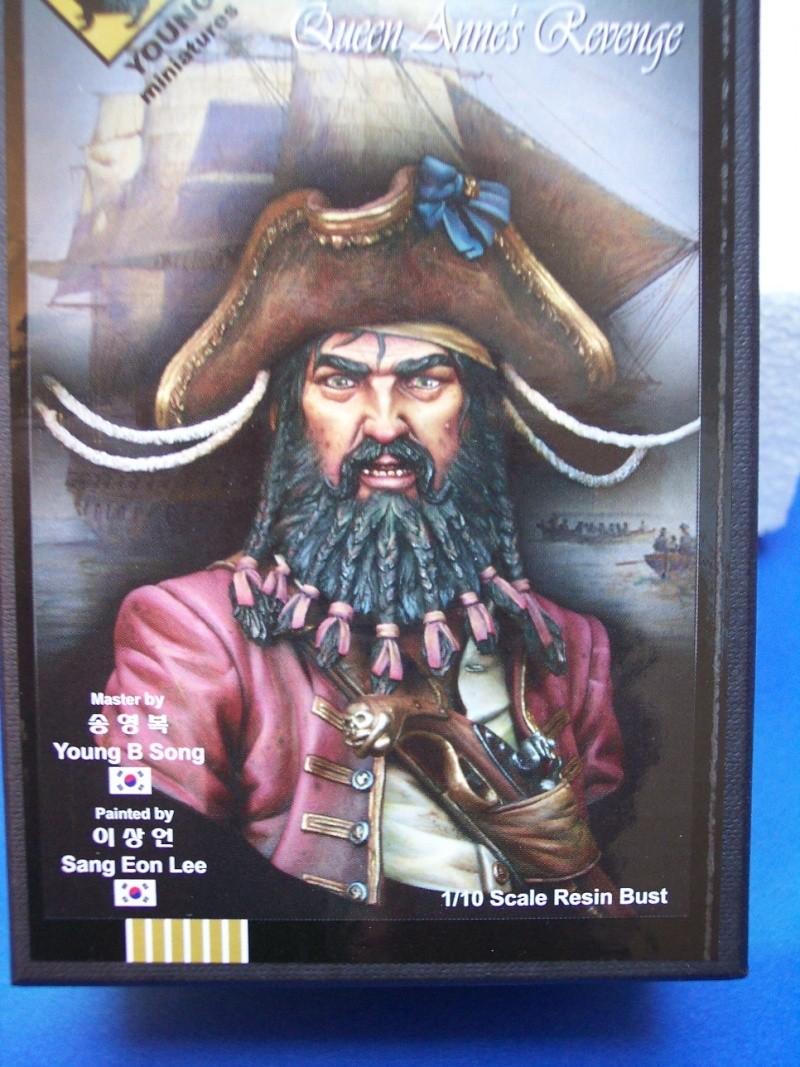 Young Miniature-Blackbeard 1718, Queen AnnesRevenge-Resinbüste 1/10-Vorstellung 100_9010