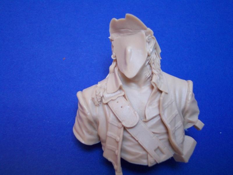 Young Miniature-Blackbeard 1718, Queen AnnesRevenge-Resinbüste 1/10-Vorstellung 100_9013