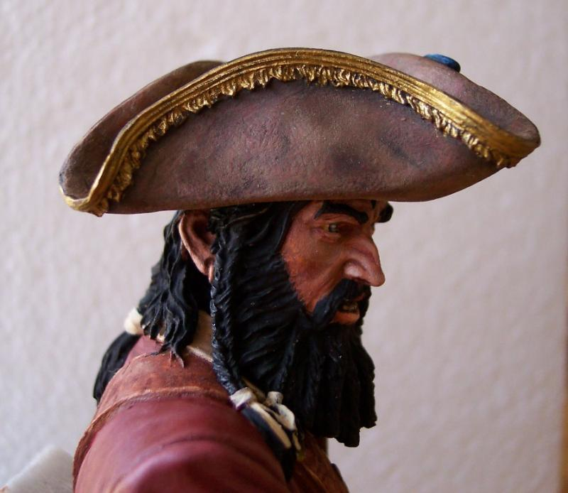Blackbeard 1718, Queen Annes Revenge, Young Miniatures 1:10 Black012