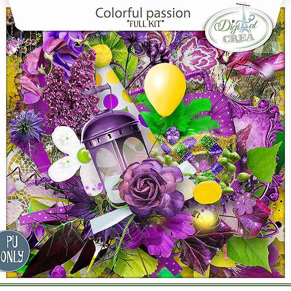 Colorful Passion (en boutique) Xuxper30
