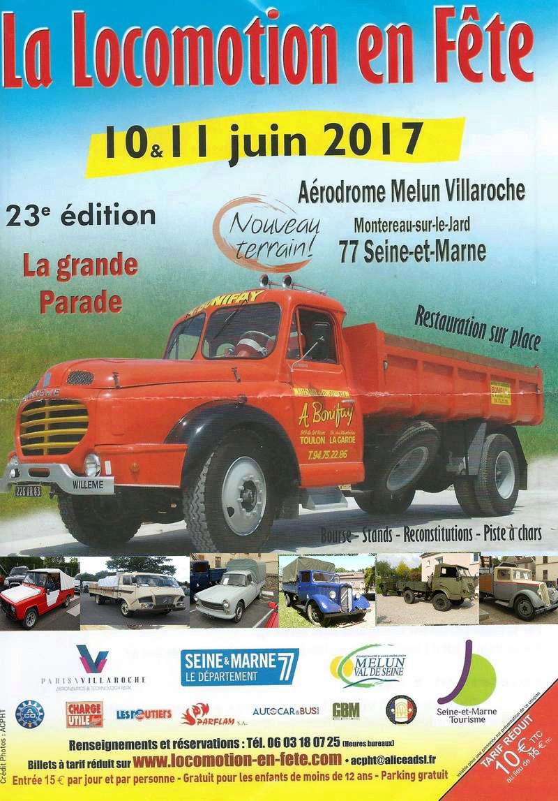 La Locomotion en Fête revient...les 10 & 11 Juin 2017 Locomo11