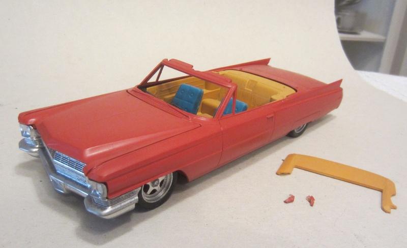Vends 1964 cadillac convertible a restaurer Photo_41