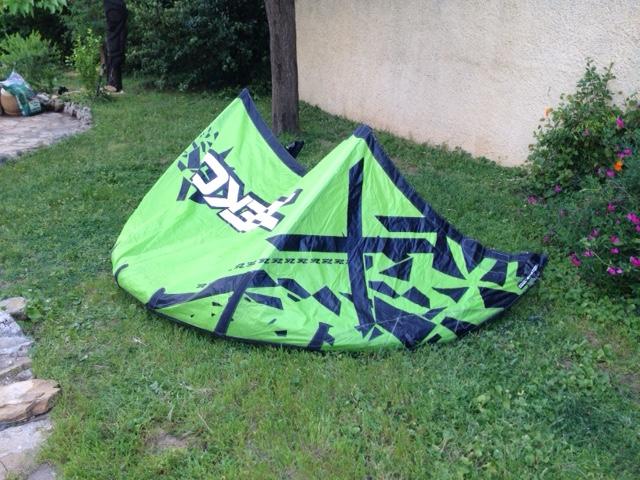 Vends aile de kite ZEEKO Notus 4m de 2014 nue 230 euros Img_1110
