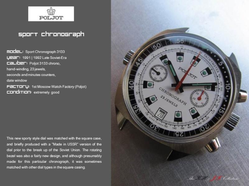 nouvelle presentation de la collection chrono Poljot - besoin de votre aide ;) Folie111