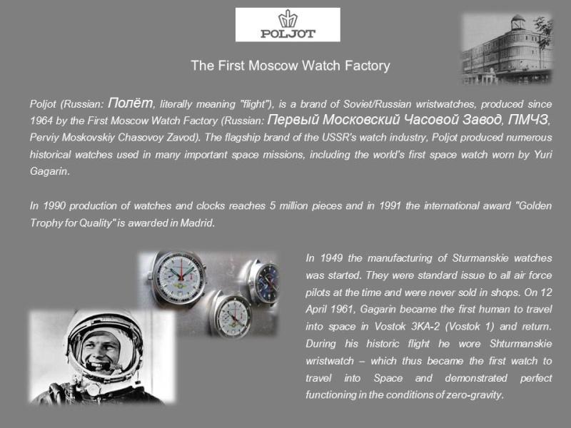 nouvelle presentation de la collection chrono Poljot - besoin de votre aide ;) Folie210