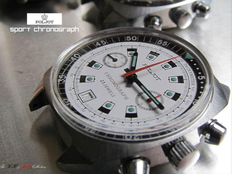 nouvelle presentation de la collection chrono Poljot - besoin de votre aide ;) Folie910