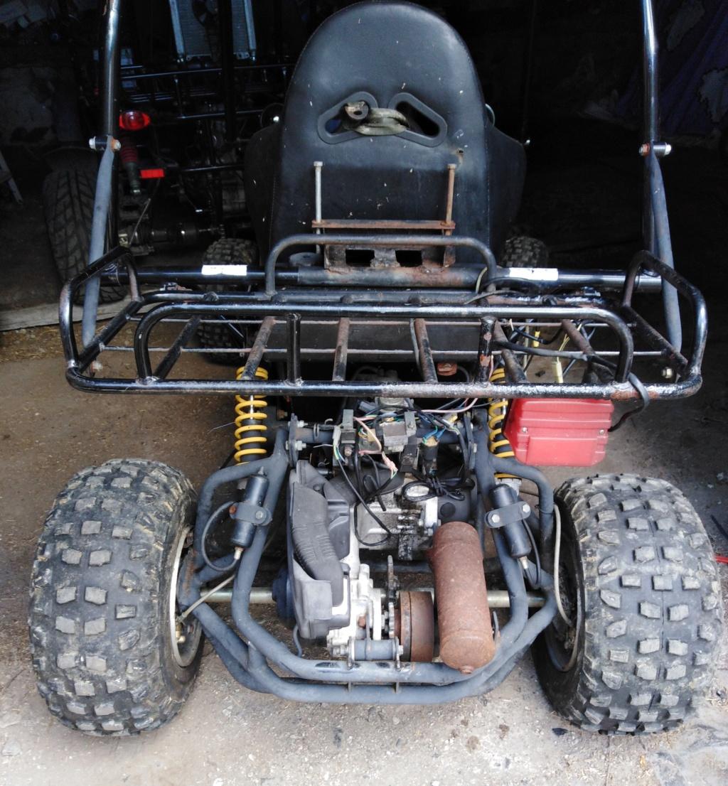 Nouveau buggy monoplace 150cc Arrizo11