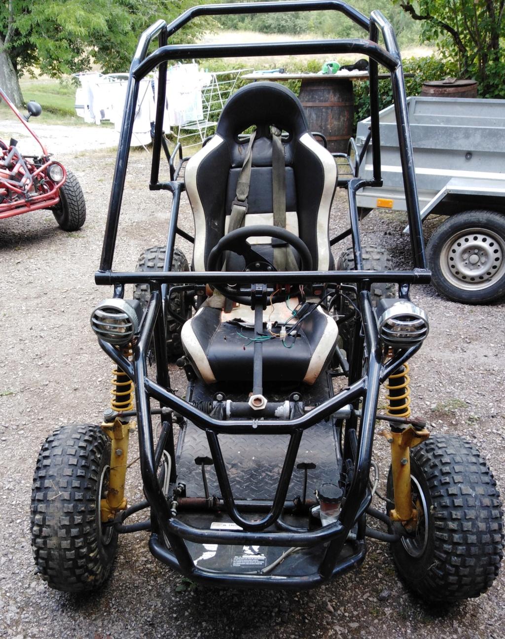 Nouveau buggy monoplace 150cc Avant11